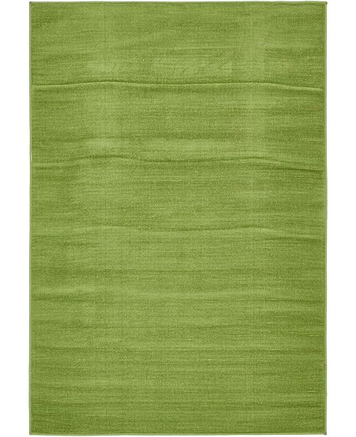 Bridgeport Home Axbridge Axb3 Green 4' x 6' Area Rug