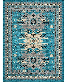 Charvi Chr1 Turquoise 9' x 12' Area Rug