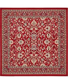 Arnav Arn1 Red 8' x 8' Square Area Rug