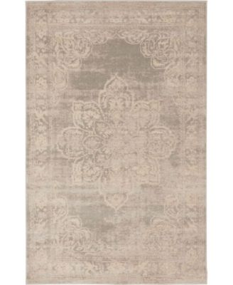 Caan Can4 Gray 9' x 12' Area Rug