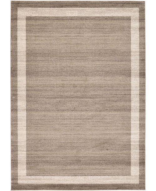 Bridgeport Home Lyon Lyo5 Light Brown 8' x 11' Area Rug