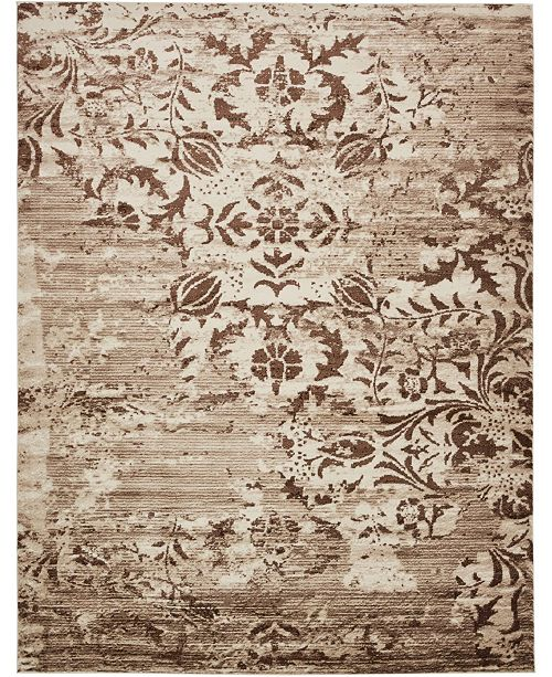 Bridgeport Home Marshall Mar3 Chocolate Brown 10' x 13' Area Rug
