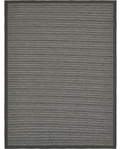 Bridgeport Home Pashio Pas6 Gray 9' x 12' Area Rug