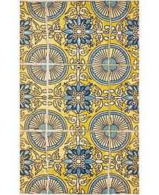 Newwolf New5 Gold 5' x 8' Area Rug