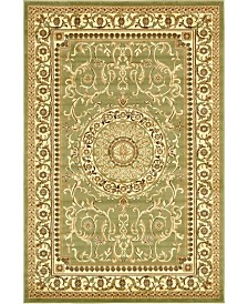 Bridgeport Home Belvoir Blv2 Light Green 6' x 9' Area Rug