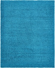 Bridgeport Home Exact Shag Exs1 Turquoise Area Rug Collection