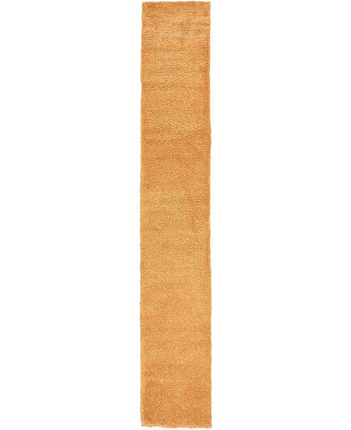 """Bridgeport Home Uno Uno1 Orange 2' 2"""" x 13' Runner Area Rug"""