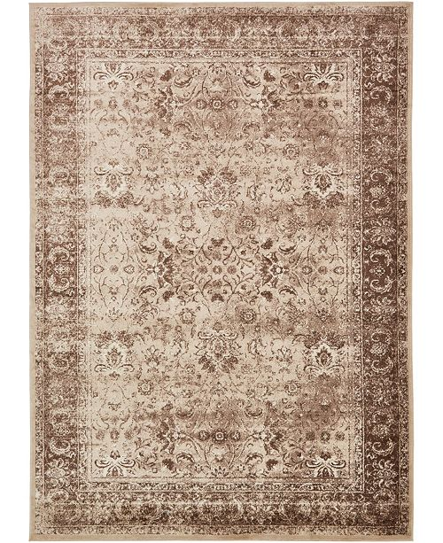 "Bridgeport Home Linport Lin1 Ivory 8' x 11' 6"" Area Rug"