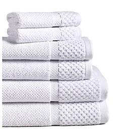 Diplomat 6-Piece 100% Cotton Bath Towel Set