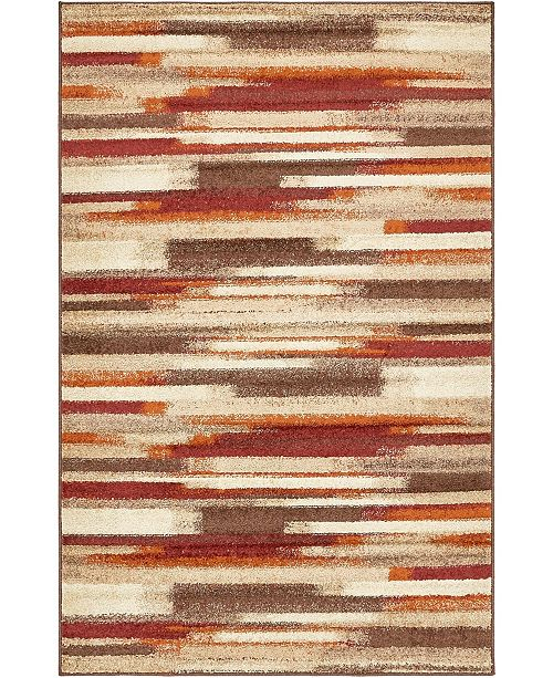 Bridgeport Home Jasia Jas03 Multi 5' x 8' Area Rug