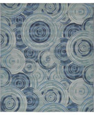 Pashio Pas1 Light Blue 10' x 12' Area Rug