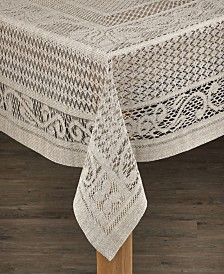 Chantilly 100% Cotton Crochet Tablecloth