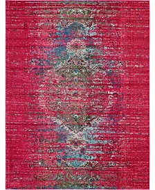 Bridgeport Home Brio Bri6 Pink 8' x 10' Area Rug