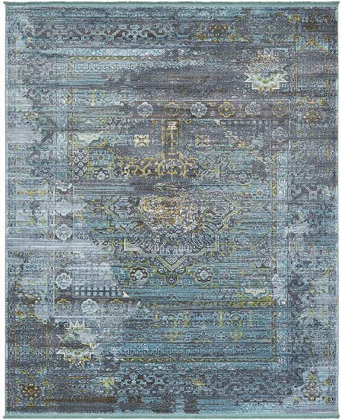 "Bridgeport Home Kenna Ken5 Dark Gray 8' 4"" x 10' Area Rug"