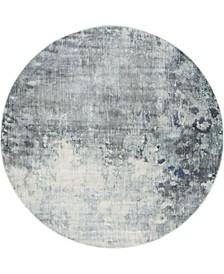 Haven Hav1 Gray 8' x 8' Round Area Rug