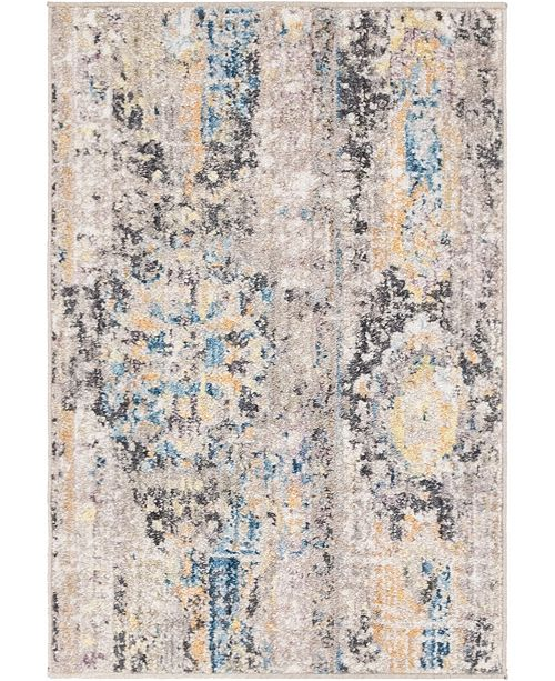"Bridgeport Home Nira Nir1 Light Brown 2' 2"" x 3' Area Rug"
