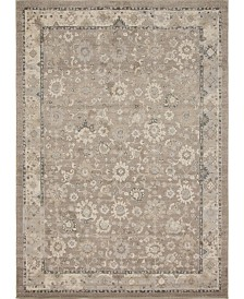 Bridgeport Home Lorem Lor3 Light Brown 10' x 14' Area Rug