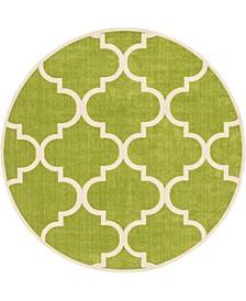 Arbor Arb3 Green 10' x 10' Round Area Rug