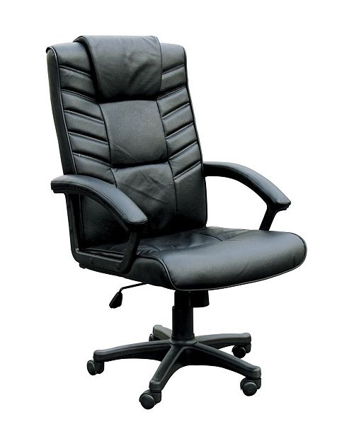 Acme Furniture Chesterfield Office Chair with Pneumatic Lift
