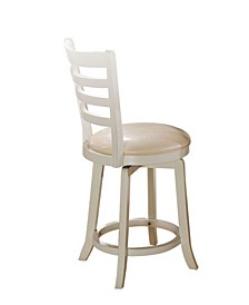 Wilton Counter Height Chair with Swivel, Set of 2