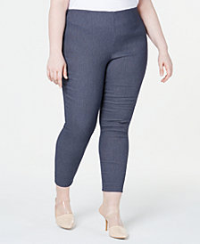 Calvin Klein  Plus Size Pull-On Skinny Pants