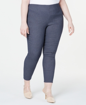 Calvin Klein Plus Pull-On Skinny Pants