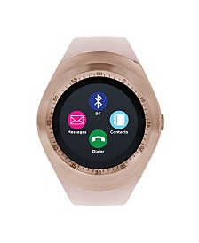 iTouch Curve Smartwatch Rose Gold Case with Blush Strap