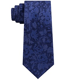 Michael Kors Men's Classic Botanical Silk Tie