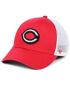 Women's Cincinnati Reds Branson Glitta Trucker Strapback Cap