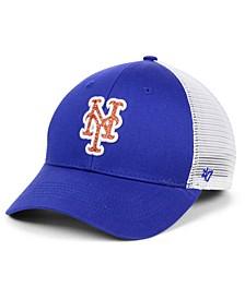 Women's New York Mets Branson Glitta Trucker Strapback Cap