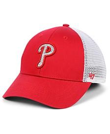'47 Brand Women's Philadelphia Phillies Branson Glitta Trucker Strapback Cap