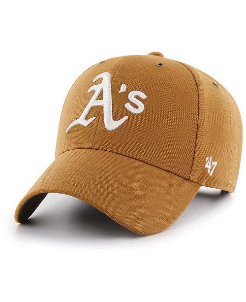 low priced 1e121 8e94f '47 Brand Oakland Athletics Carhartt MVP Cap & Reviews ...