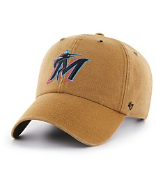 '47 Brand Miami Marlins Carhartt CLEAN UP Cap
