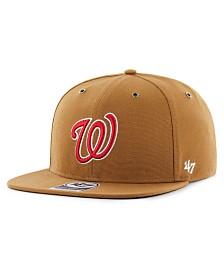 '47 Brand Washington Nationals Carhartt CAPTAIN Cap