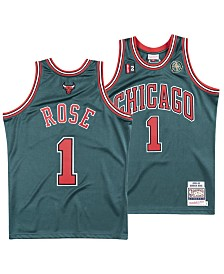 Mitchell & Ness Men's Derrick Rose Chicago Bulls Authentic Jersey