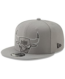 New Era Chicago Bulls Light It Up Gray 9FIFTY Snapback Cap
