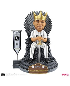 Forever Collectibles Yoan Moncada Chicago White Sox Game Of Thrones Iron Throne Bobblehead