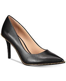 COACH Waverly Beadchain Pumps