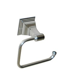Arista Leonard Toilet Paper Holder Chrome Finish