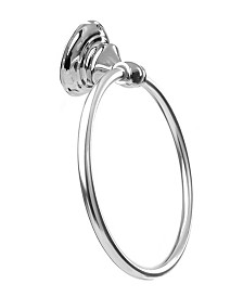 Arista Highlander Towel Ring Chrome Finish