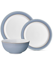 Denby Natural Denim 12-Pc. Dinnerware Set, Service for 4