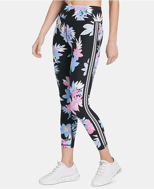 DKNY Sport Printed Ankle Leggings