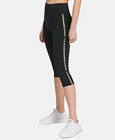 Sport High-Rise Pedal-Pusher Leggings