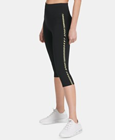 DKNY Sport High-Rise Pedal-Pusher Leggings