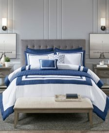 Heritage Full/Queen 8 Piece Comforter and Coverlet Set Collection