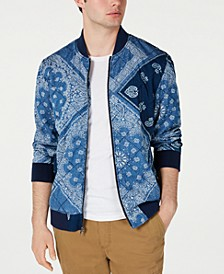 Men's Quilted Bandana Jacket, Created for Macy's