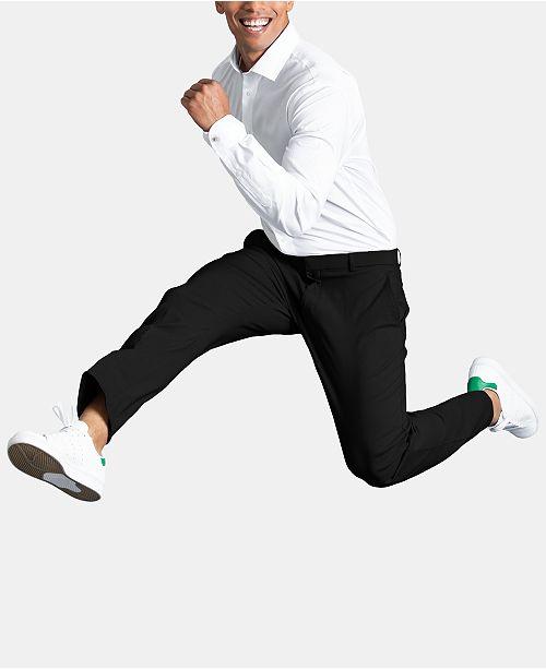 eaa3903ba1af13 Tommy Hilfiger Men's Modern-Fit TH Flex Stretch Comfort Dress Pants ...