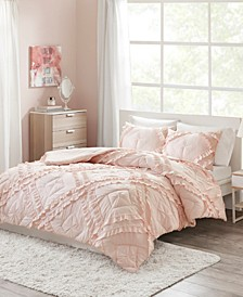 Kacie 3-Pc. Solid Coverlet Sets