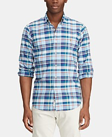 폴로 랄프로렌 Polo Ralph Lauren Mens Classic Fit Stripe Oxford Shirt