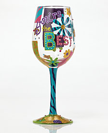 Enesco Lolita You're The Best Wine Glass